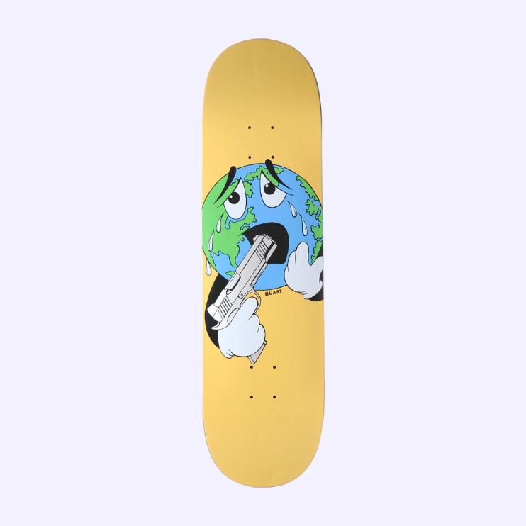 Quasi Skateboards World 8.625 Yellow