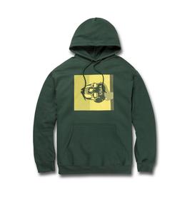 Uma Dead Head Dark Green Hoodie