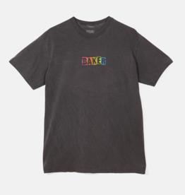 Baker Skateboards Brand Logo Rainbow Tee