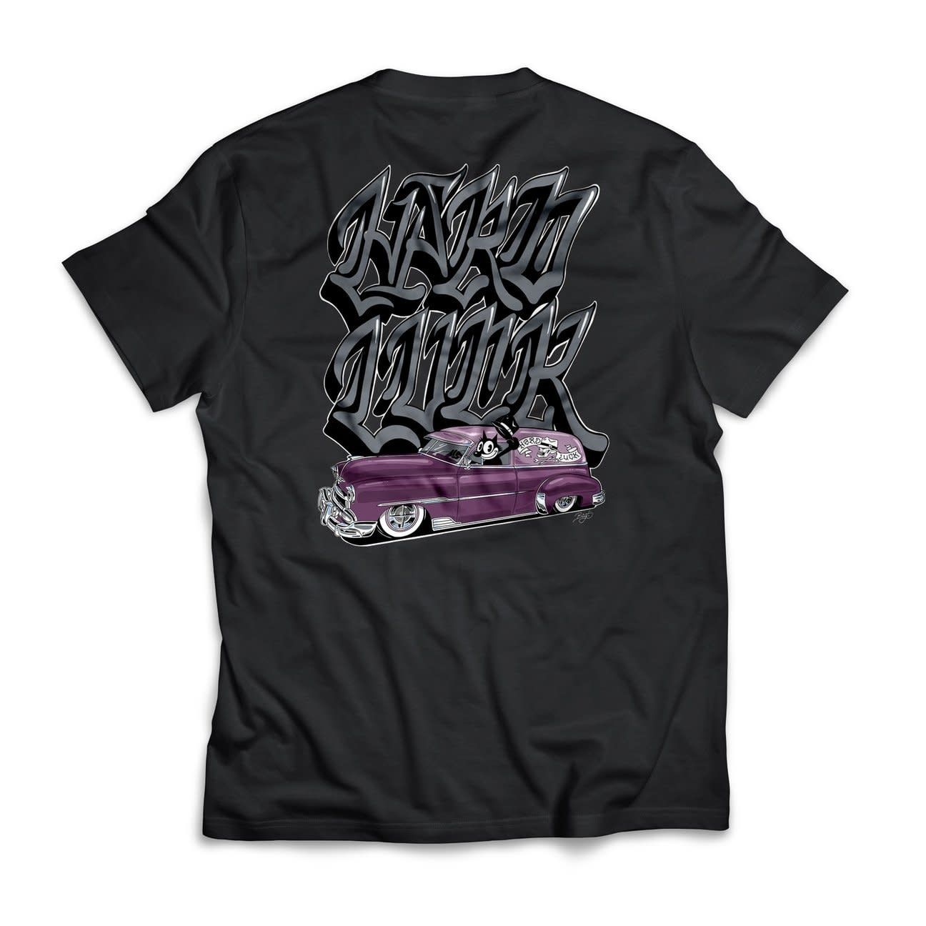 Hard Luck Mfg. Special Delivery Black Tee