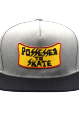 Possessed To Skate Patch Hat Grey/Black