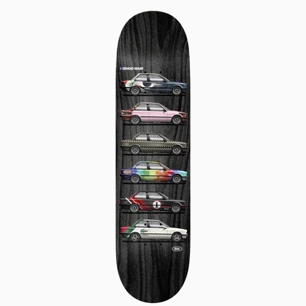 Real Skateboards Ishod Custom TT 8.0