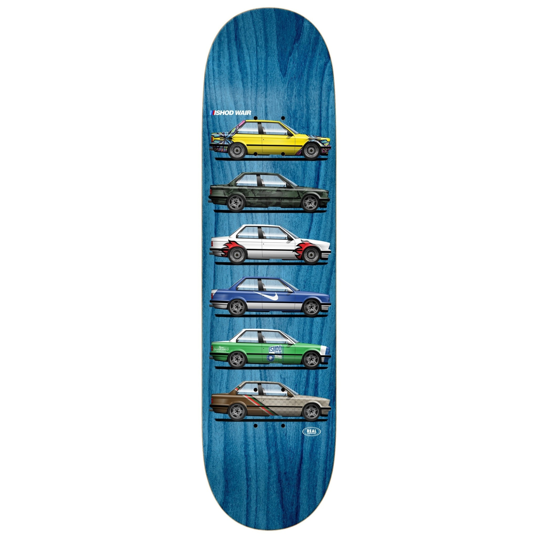 Real Skateboards Ishod Custom TT 8.5