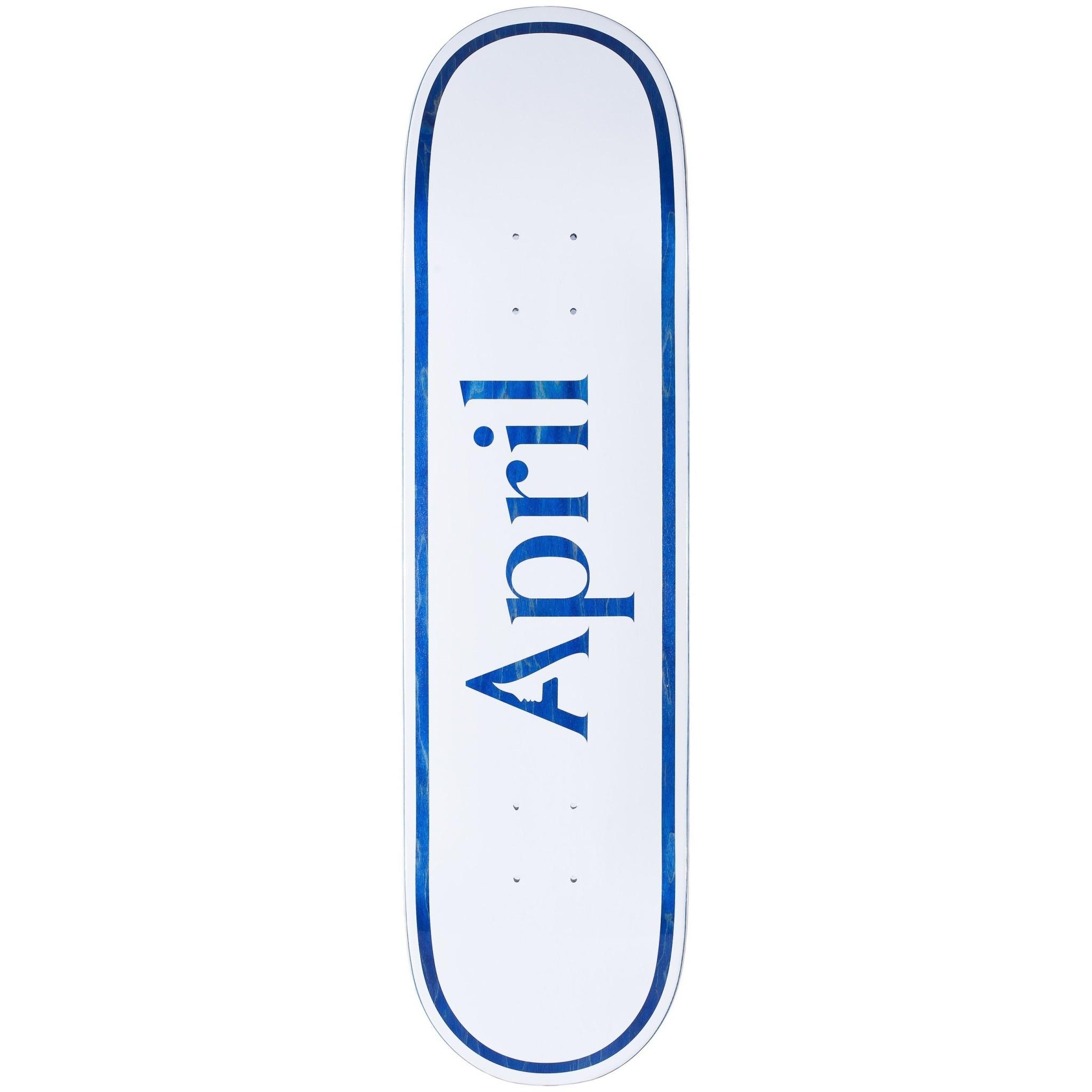 April Skateboards April Logo Blue 8.5