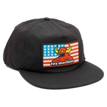 Toy Machine American Monster Unstructured Black Hat