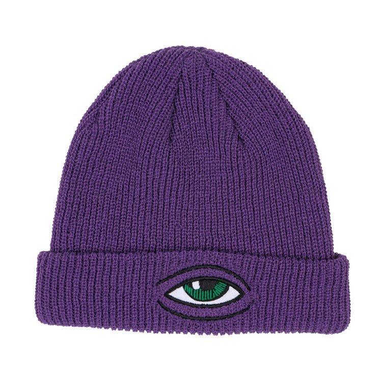 Toy Machine Sect Eye Dock Purple Beanie