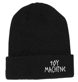 Toy Machine Tape Logo Black Beanie