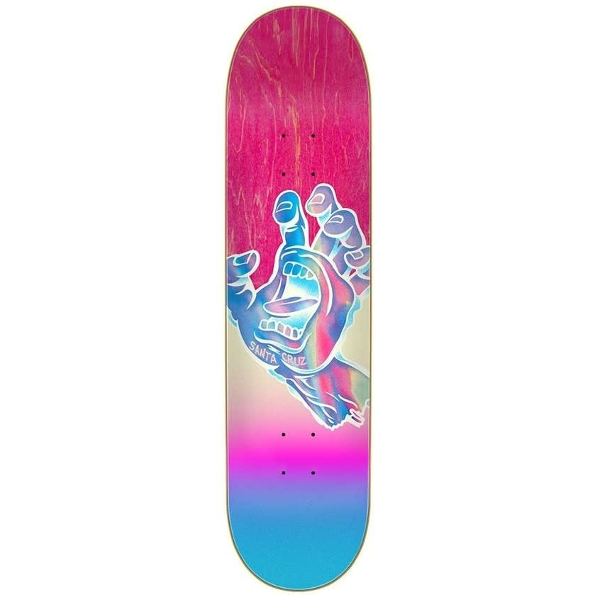 Santa Cruz Skateboards Iridescent Hand 7.75