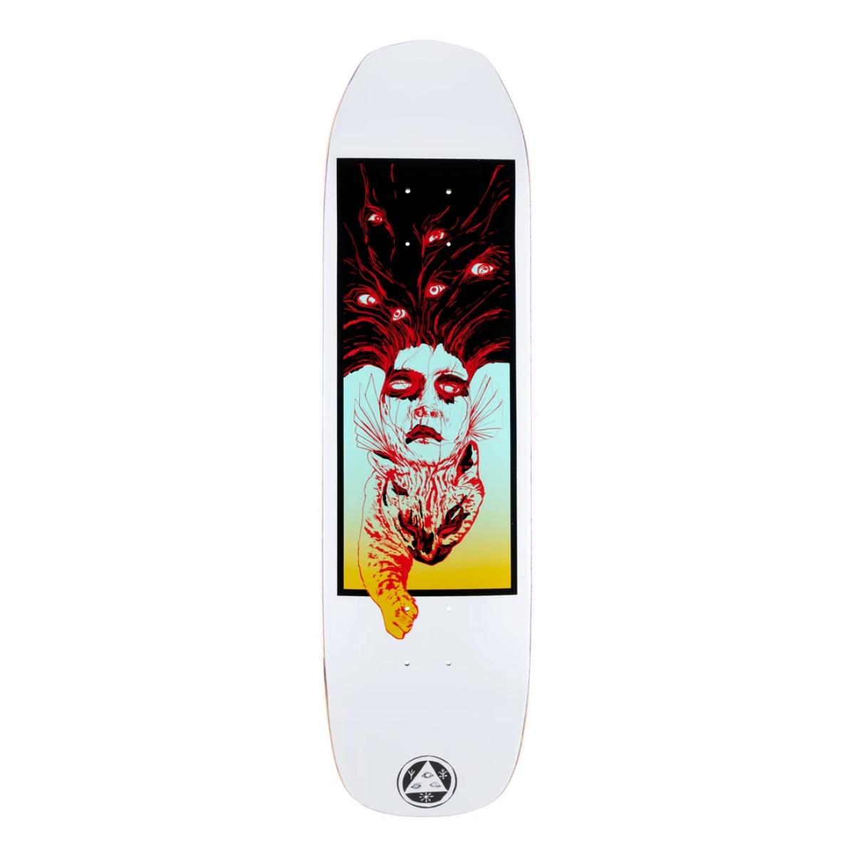 """Welcome Skateboards Stoker on Vimana 8.25"""" White"""