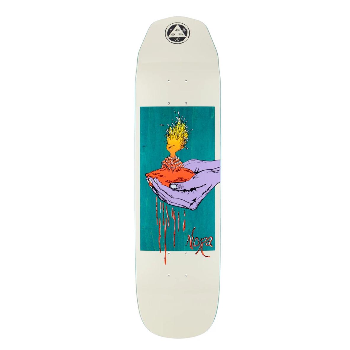 "Welcome Skateboards Soil on Wicked Princess 8.125"" Bone"
