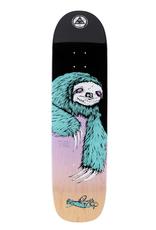 "Welcome Skateboards Sloth On Son Of Planchette 8.375"" Black/Lavender"