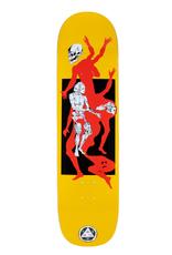 "Welcome Skateboards The Magician on Big Bunyip 8.5"" Yellow"