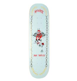 """Welcome Skateboards Angel on Enenra 8.5"""" Light Teal/Gold Foil"""