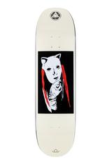 """Welcome Skateboards Audrey on Moontrimmer 2.0 8.5"""" Black Dip/Bone"""