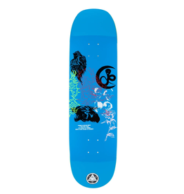 "Welcome Skateboards Flash on Moontrimmer 2.0 8.5"" Blue"