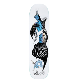 """Welcome Skateboards Isobel on Stonecipher 8.6"""" White/Prism Foil"""