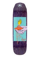 """Welcome Skateboards Soil on Wicked Princess 8.6"""" Purple Stain"""