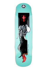 "Welcome Skateboards Tusk on Effigy 8.8"" Teal"