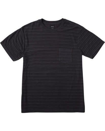 RVCA PTC Texture Stripe Black