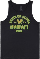 RVCA State Of Aloha Tank Black