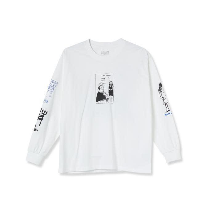Polar Skate Co. Year 2020 L/S White