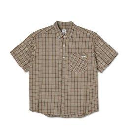 Polar Skate Co. Mitchell Flannel Shirt Brown