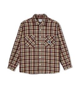 Polar Skate Co. Polar Flannel Shirt Brown