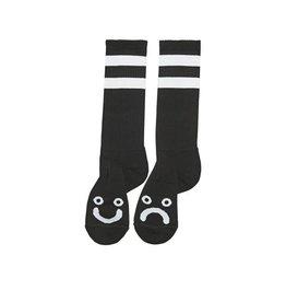 Polar Skate Co. Happy Sad Socks Long Black 39/42