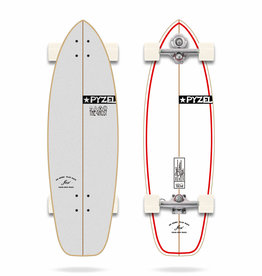 """YOW Surfskate Ghost 33.5"""" Pyzel Complete"""