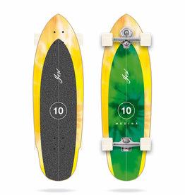 "YOW Surfskate Medina Tie Dye 33"" Signature Complete"