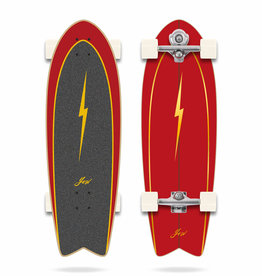 """YOW Surfskate Pipe 32"""" Power Surfing Complete"""