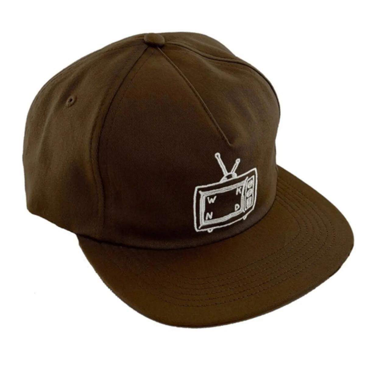 WKND TV Logo Brown Cap