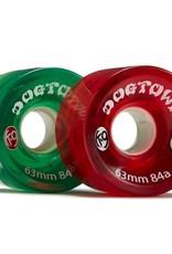 Dogtown K-9 Cruiser 84a Clear Red/Green Mix 63mm