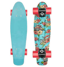 """Swell Skateboards Hollywood Flamingo 22"""" Complete"""