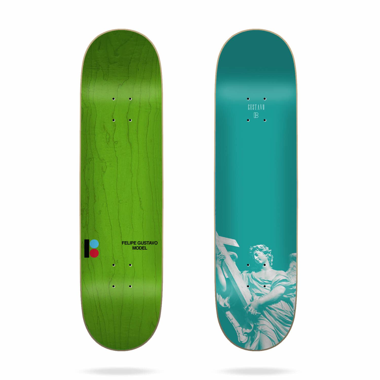 "Plan B Skateboards Metallic Monument Felipe 7.75"""