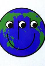APB Skateshop Happy World Globe Sticker
