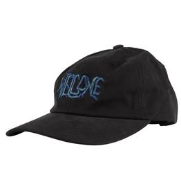 Welcome Skateboards Black Lodge Black Dad Hat