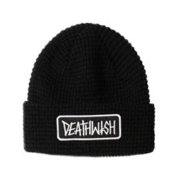 Deathwish Skateboards Deathspray Black Waffle Beanie