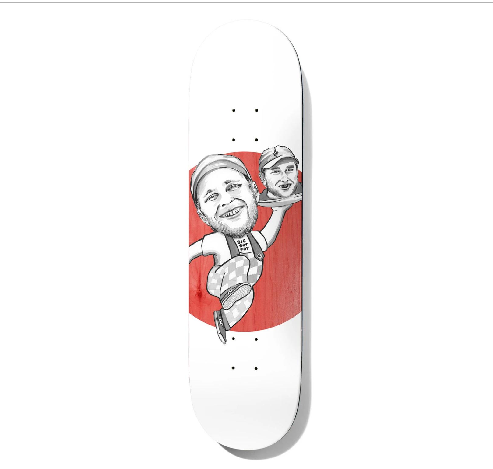 """Deathwish Skateboards JF Spanky's Big Boy 8.25"""""""