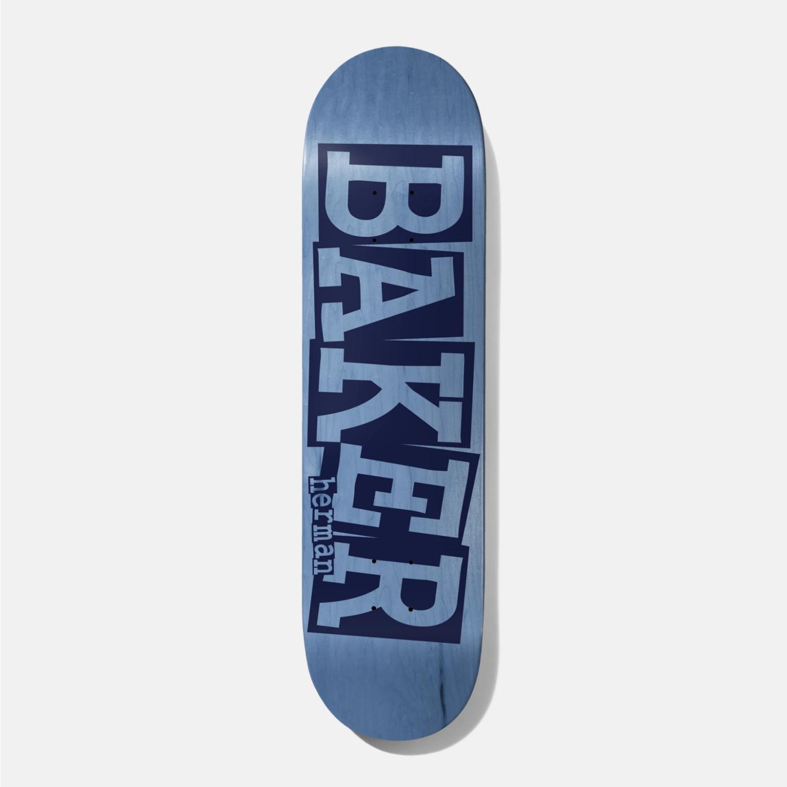 """Baker Skateboards BH Ribbon Blue Veneer 8.25"""""""