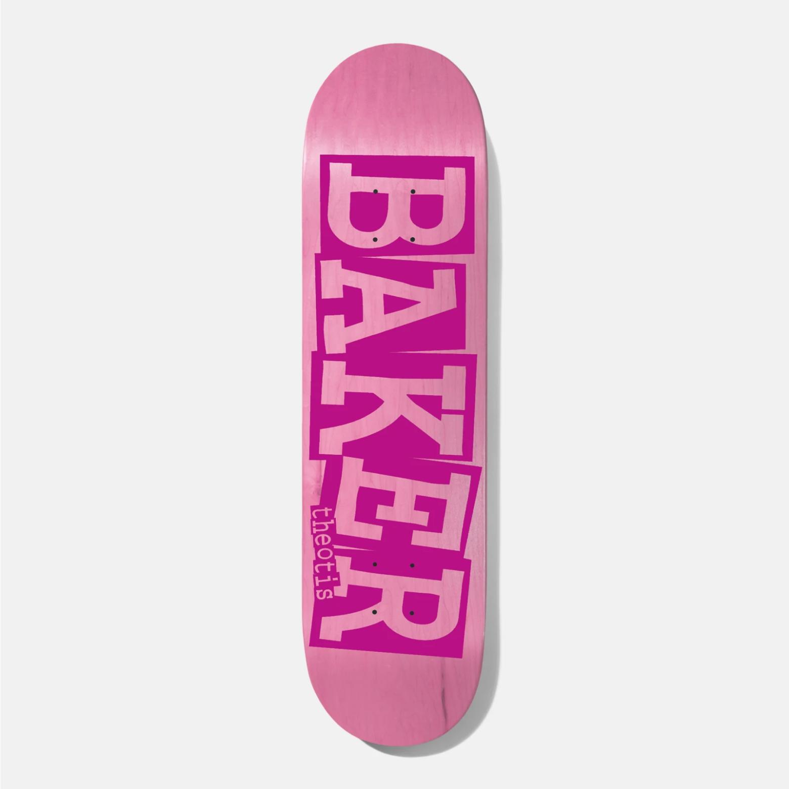 "Baker Skateboards TB Ribbon Pink Veneer 8.0"""