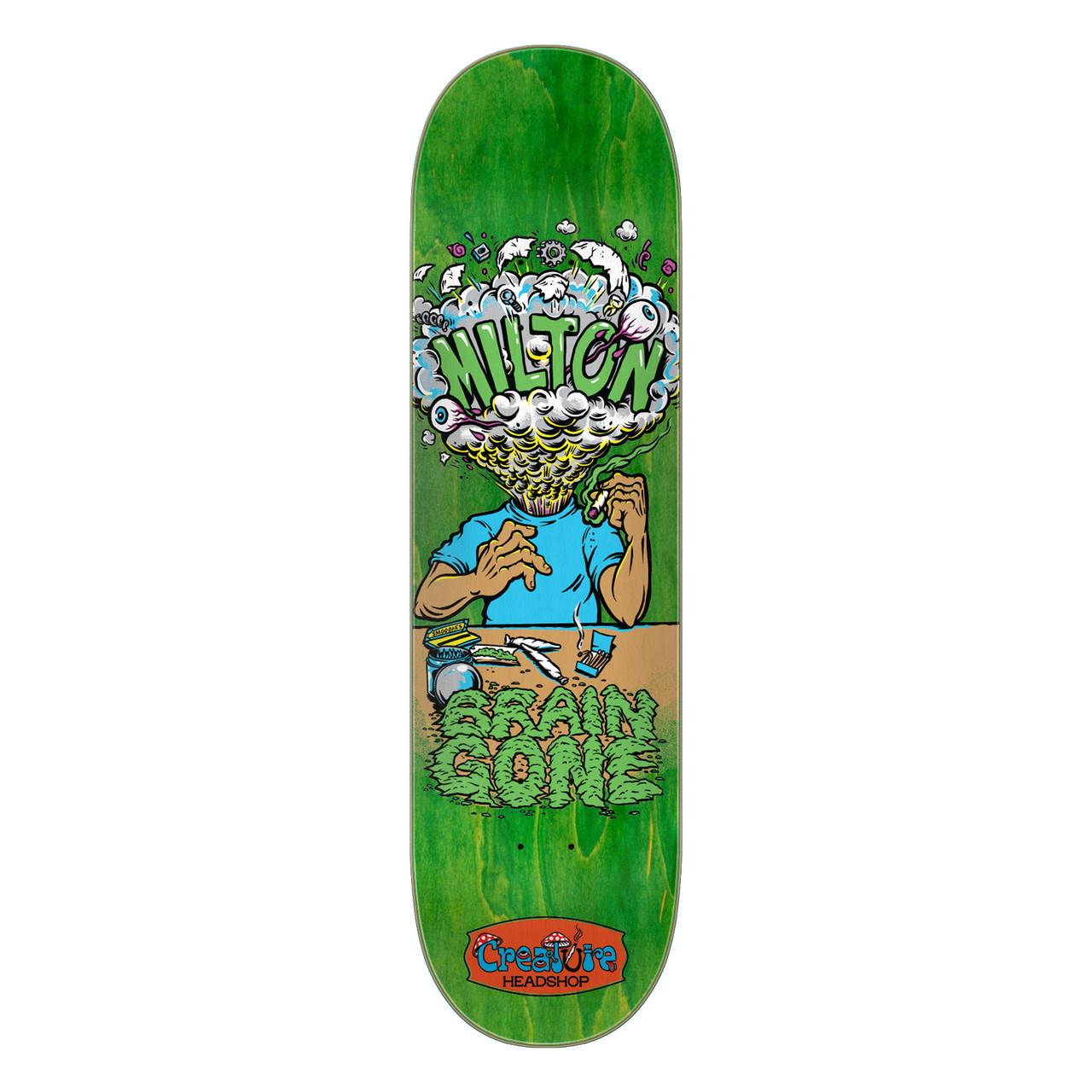 Creature Skateboards Milton Brain Gone 8.6