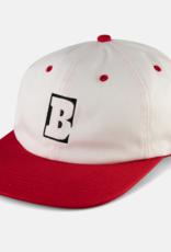 Baker Skateboards Capital B White/Red Snapback