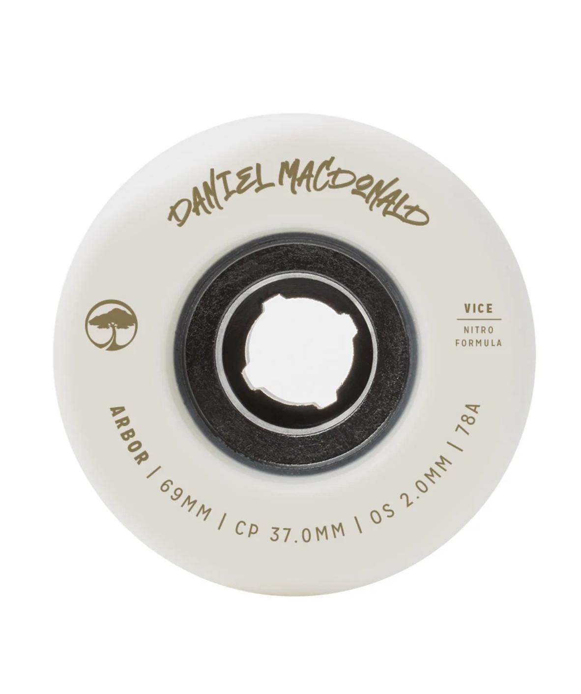 Arbor Vice Daniel MacDonald 78a White 69mm