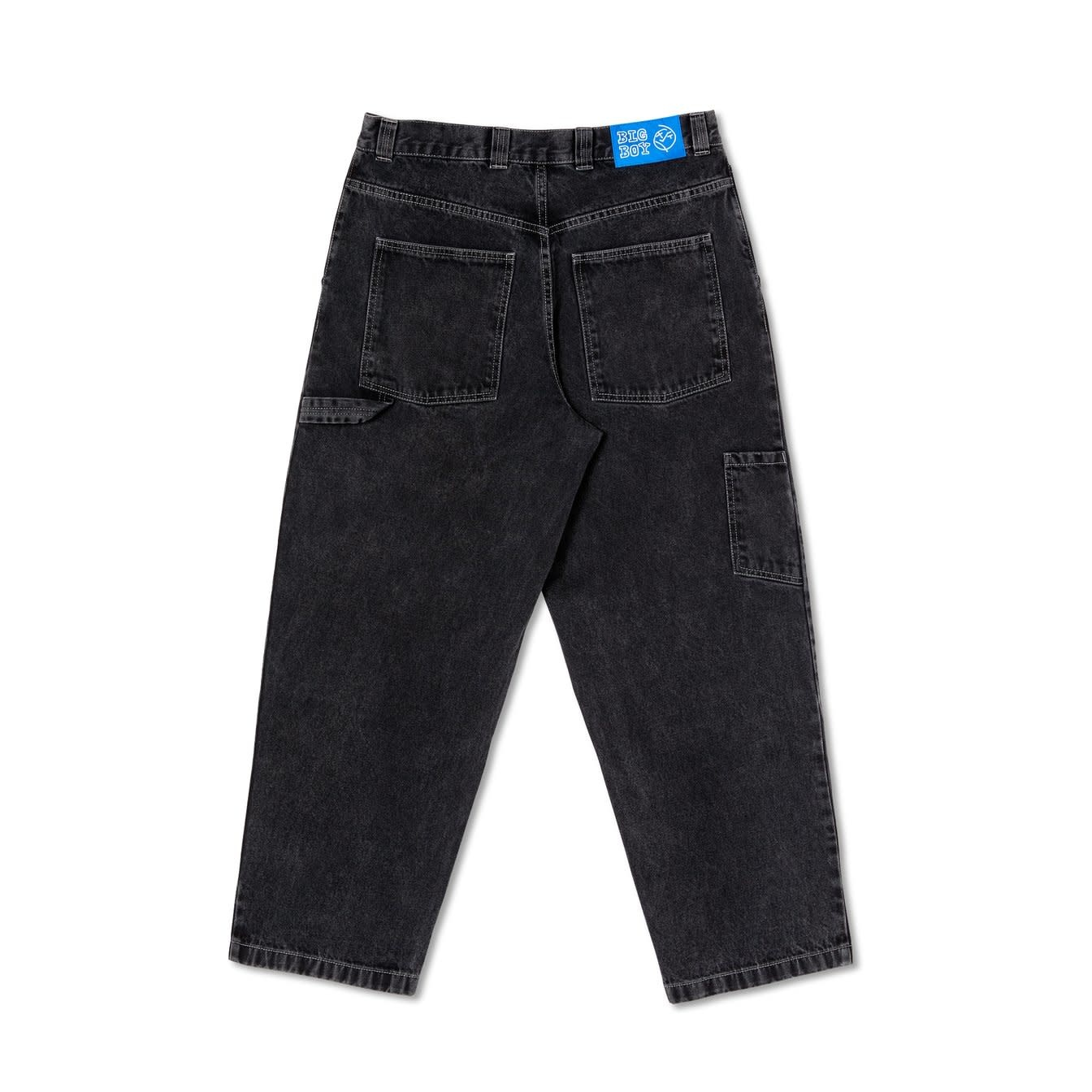 Polar Skate Co. Big Boy Work Pants Washed Black