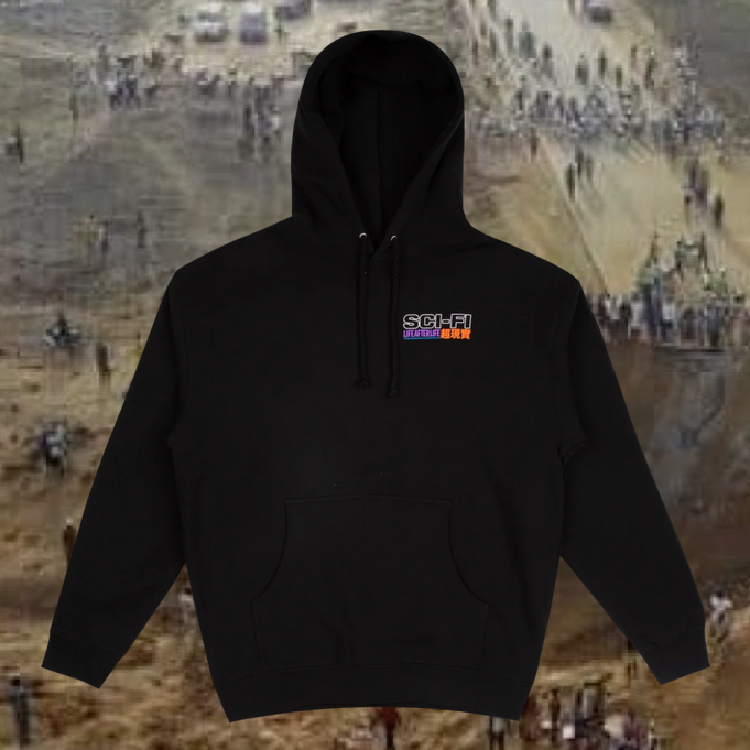 Sci-Fi Fantasy Life After Life Hoodie Black