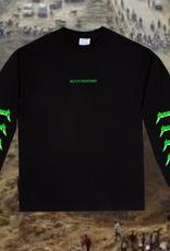 Sci-Fi Fantasy Metal Logo L/S Black