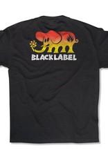 Black Label Elephant Fade Tee Black