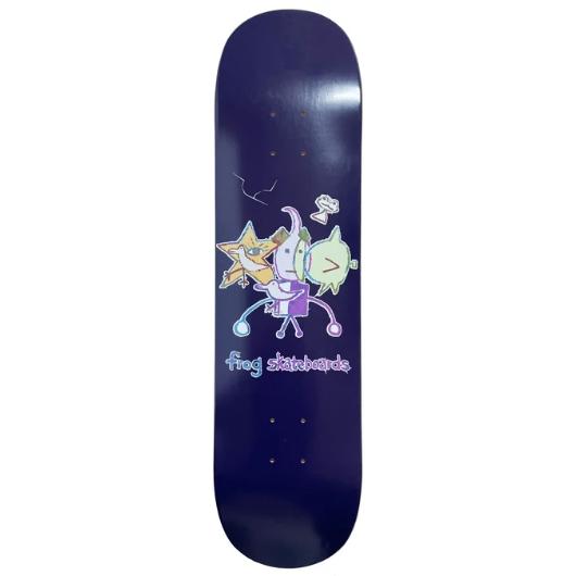 Frog Skateboards Cracked Robot Boy 8.0