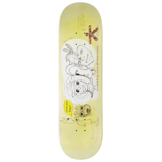 Frog Skateboards Cursed Milic 8.5